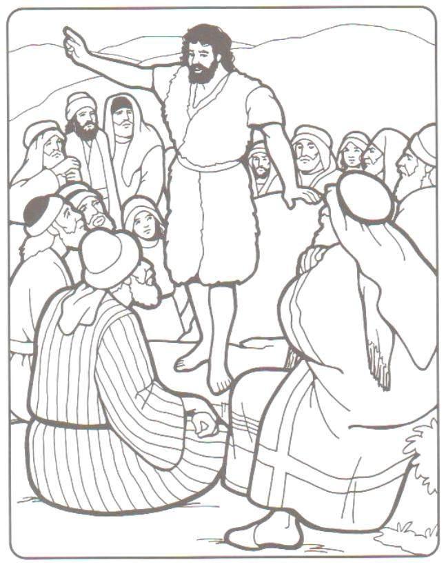 bold john the baptist