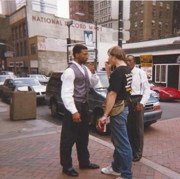 Dan Corner street witnessing
