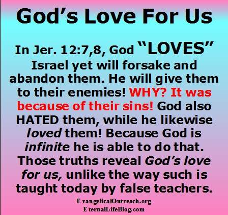 essays about gods love Only love can set us free from the bonds that tie us to satanonly when people are loved - and really feel that love - will they be willing to enter into a relationship with so authoritative a being as our creator and heavenly father.