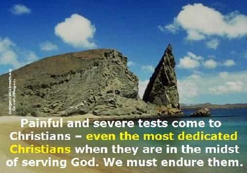 God tests