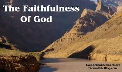God's faithfulness God is faithful