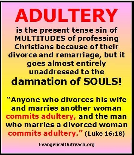 What does god say about dating a divorced man