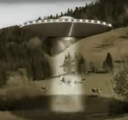 aliens cow mutilations