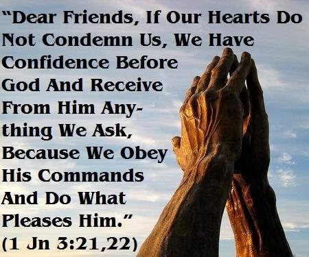 obedience answered prayer hindrances