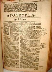14 books of the apocrypha