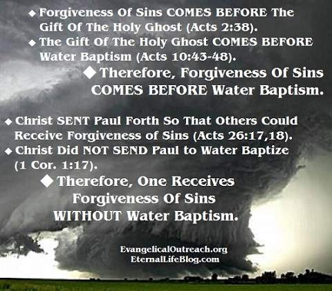 baptism salvation forgiveness of sins