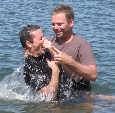 Christian baptism by immersion