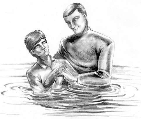 saved at baptism refuted