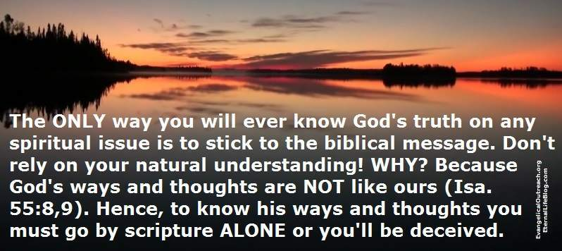 Image result for scriptural truth is an interpretation of truth
