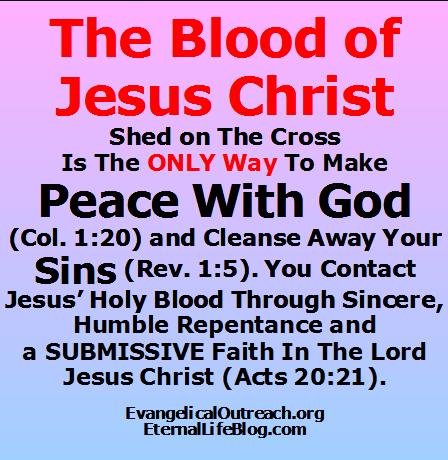 blood of Jesus Christ Jesus' blood