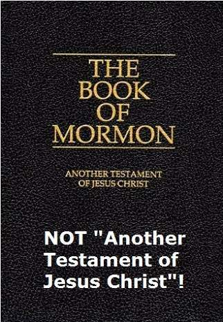 book of mormon LDS mormonism