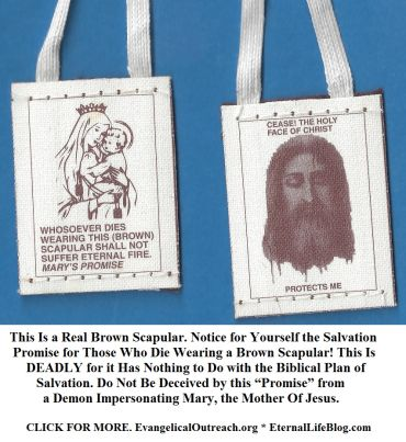 NO salvation in wearing the brown scapular