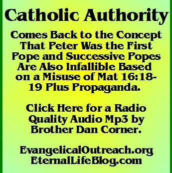 catholic authority pope infallibility