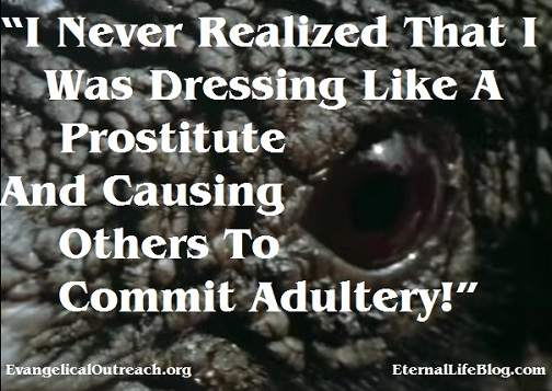 adultery, modesty, dressing like a prostitute