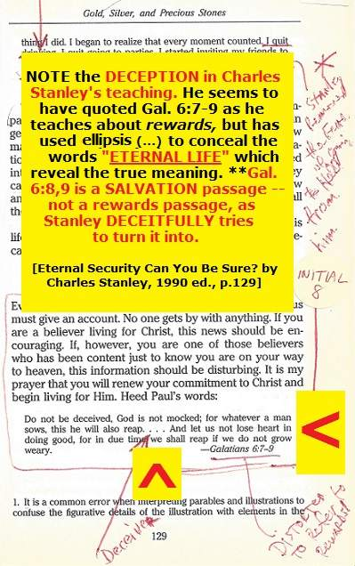Charles Stanley eternal security book