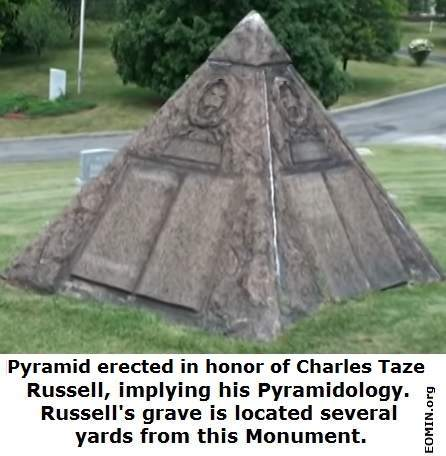 Charles Taze Russell pyramid monument
