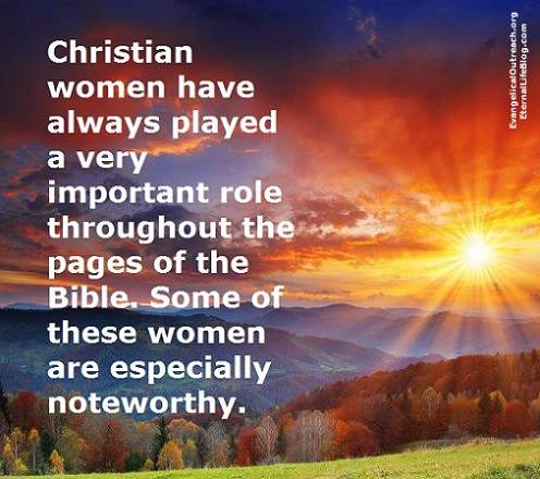 christian women in the bible