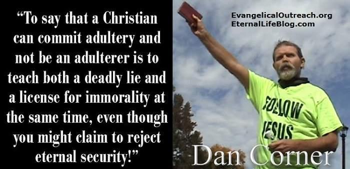 Dan Corner  evangelist soul winner