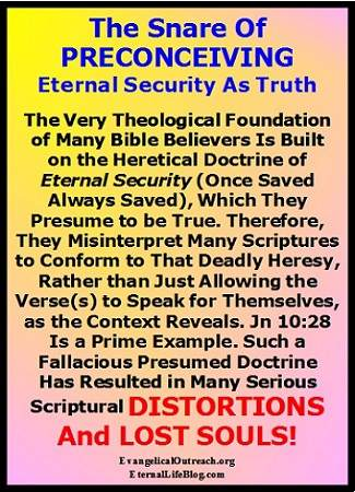Out Of Context Scriptures And Distortions On Security