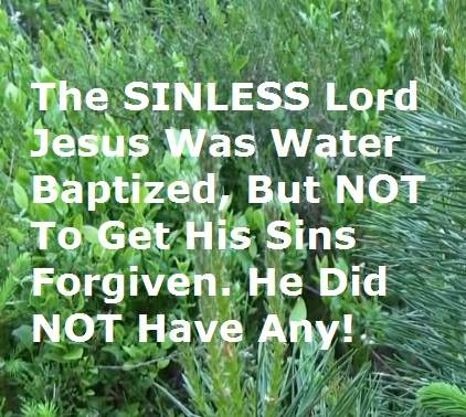 does baptism save
