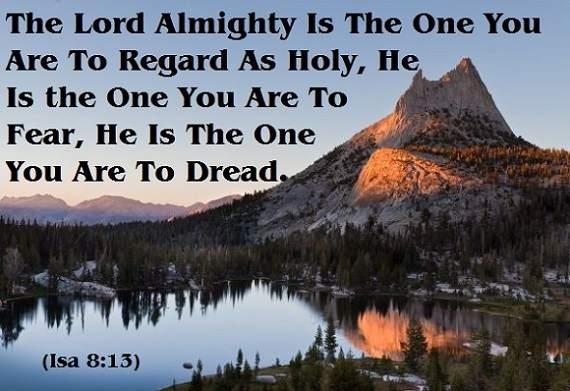 fear God dread God