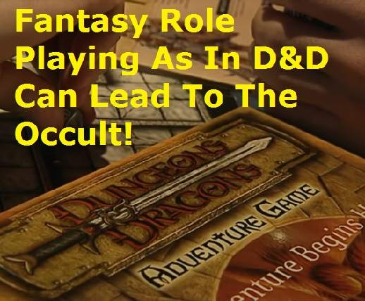 occult dungeons and dragons