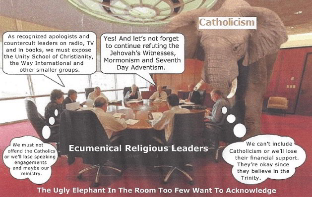 false unity catholicism elephant in the room
