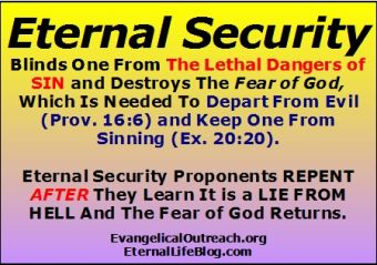 eternal security proponents