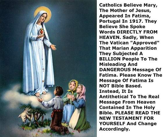 Fabricated Mary Of  Catholicism before the Fatima children