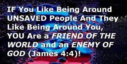 friend of the world enemy of God