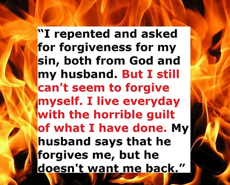 guilt of adultery