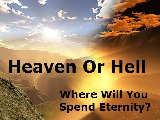 Heaven Or Hell Saved Or Lost Sheep Or Goat