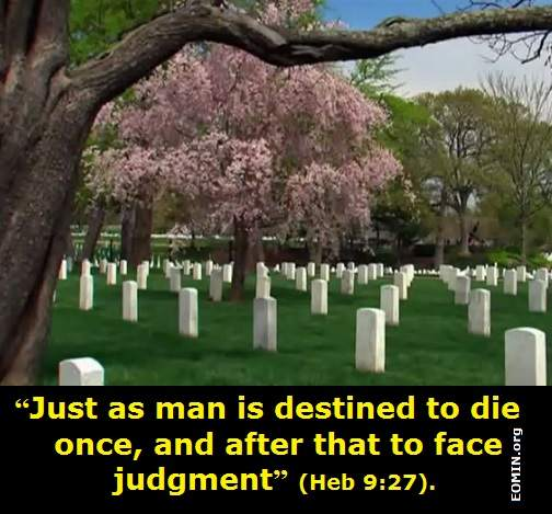 Christian Poem on Death and Afterlife No One Escapes
