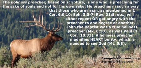 holiness preaching holiness preacher