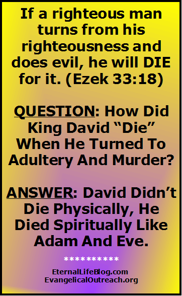 eternal security david's adultery murder