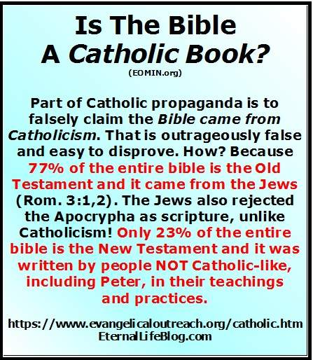 Catholic beliefs about the Bible.