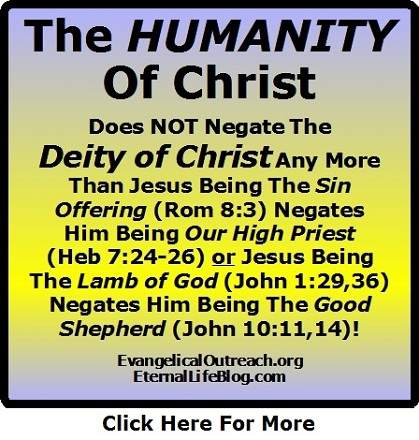 humanity of christ doesn't negate the deity of christ
