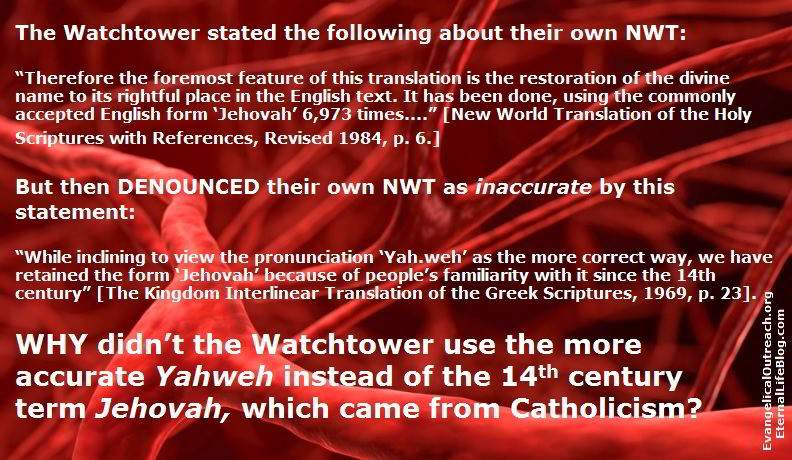 Is God's Name Jehovah Jehovahs Witnesses Tetragrammaton YHWH