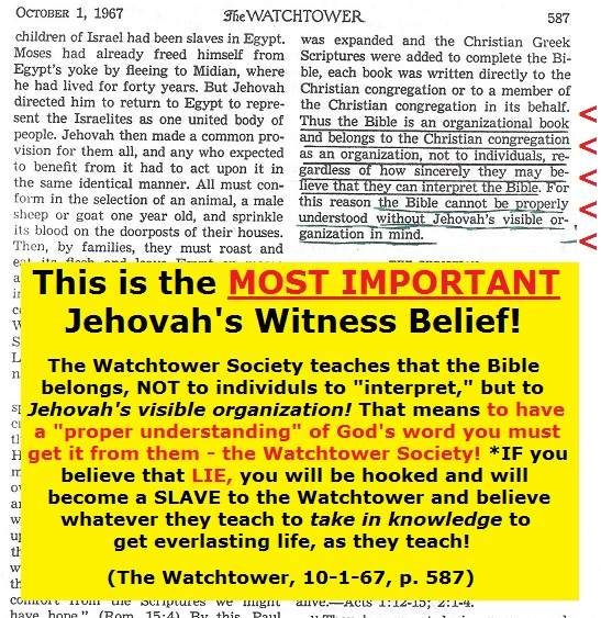 jehovah's witnesses answered exposed false prophets
