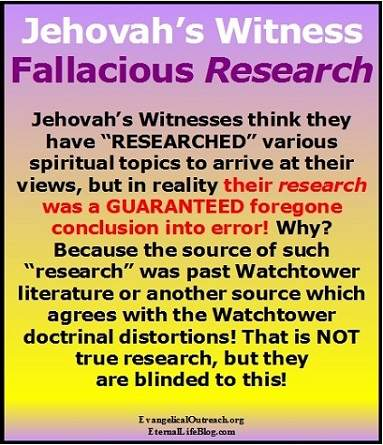 jehovahs witness brainwashed