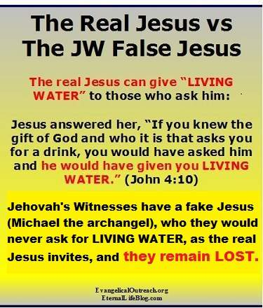 jesus is michael the archangel LIE