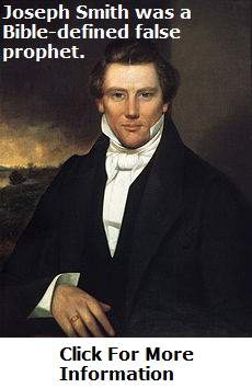 Joseph Smith Jr. Was A False Prophet