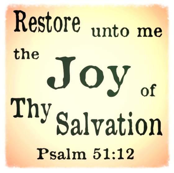 joy of salvation