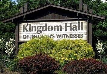 jehovah's witness Kingdom Hall Sign