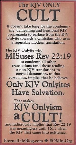 kjv only cult