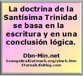 La Trinidad Doctrina Es Bíblico