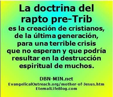 PRE Tribulación Rapto