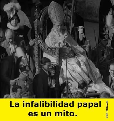 La Infalibilidad Papal
