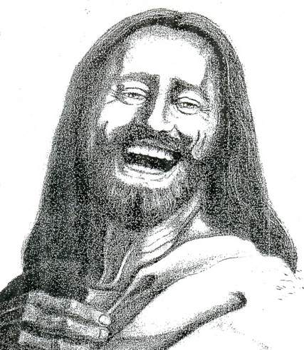 pictures of Jesus laughing