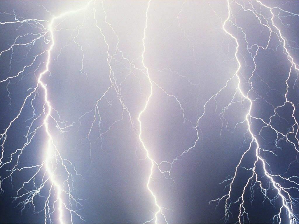 lightning bolt strikes Roy Sullivan
